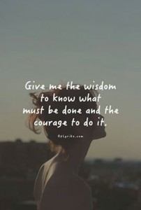 Thrive is Wisdom & Courage