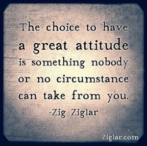 Choose Great Attitude