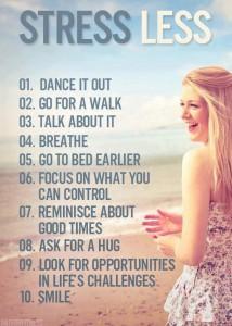 Thrive ro Reduce Stress