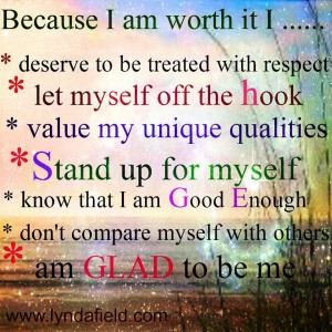 Worthy Of Me