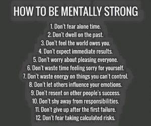 mentallystrong 12 list of do nots