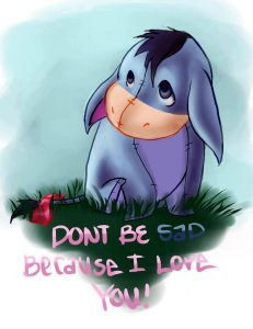 Love trumps sad...