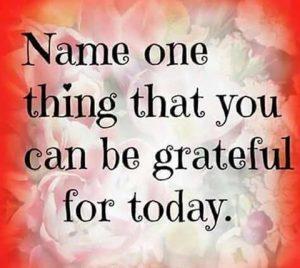 Grateful?